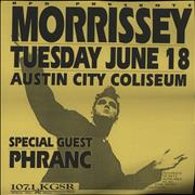 Click here for more info about 'Morrissey - Kill Uncle Cancelled Gig Poster'