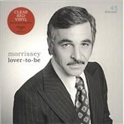 """Morrissey Lover-To-Be - RSD19 - Red Vinyl UK 7"""" vinyl"""