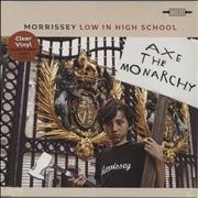 Click here for more info about 'Morrissey - Low In High School - Clear Vinyl + Sealed'