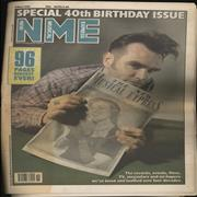 Click here for more info about 'New Musical Express - Special 40th Anniversary Birthday Issue'