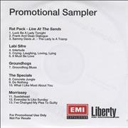 Click here for more info about 'Morrissey - Promotional Sampler'