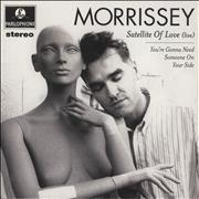 Click here for more info about 'Morrissey - Satellite Of Love - Live'