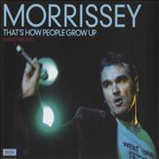 Click here for more info about 'Morrissey - That's How People Grow Up'