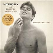Click here for more info about 'Morrissey - Wedding Bell Blues - Yellow Vinyl'