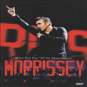 Click here for more info about 'Morrissey - Who Put The 'M' In Manchester?'