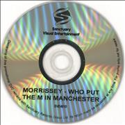 Morrissey Who Put The M In Manchester UK DVD Promo