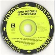 Click here for more info about 'Morrissey - Words & Music - With Joni Mitchell'