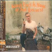 Morrissey World Peace Is None Of Your Business - Deluxe Edition Japan 2-CD album set Promo