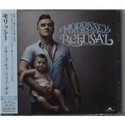 Morrissey Years Of Refusal Japan CD album Promo