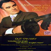 Click here for more info about 'Morrissey - You Are The Quarry'