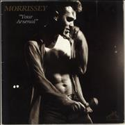 Click here for more info about 'Morrissey - Your Arsenal - VG+/EX-'