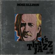 Click here for more info about 'Mose Allison - Mose Allison'