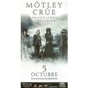 Click here for more info about 'Motley Crue - Crue Fest - 5th October Mexico, Palacio De Los Deportes'