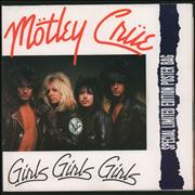 Click here for more info about 'Motley Crue - Girls Girls Girls - Poster Slv'