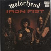 Click here for more info about 'Motorhead - Iron Fist - Red - P/S - EX'