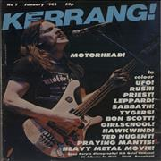 Click here for more info about 'Kerrang! Magazine - Kerrang! Magazine - Jan 82'