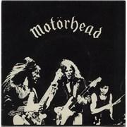 Click here for more info about 'Motorhead - Motorhead - White Vinyl'