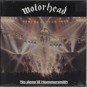 Click here for more info about 'Motorhead - No Sleep 'Til Hammersmith'