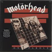 Click here for more info about 'Motorhead - On Parole - 180gm Vinyl - Sealed'