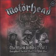 Click here for more info about 'Motorhead - The Wörld Is Ours - Vol 1 (Everywhere Further Than Everyplace Else)'