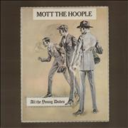 Mott The Hoople All The Young Dudes UK vinyl LP