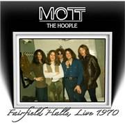 Mott The Hoople Fairfield Halls, Live 1970 UK CD album