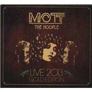 Mott The Hoople Live 2013 - Gold Edition UK 3-CD set