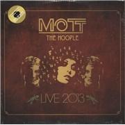Mott The Hoople Live 2013 - Yellow Vinyl - Sealed UK 2-LP vinyl set