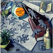 Mott The Hoople Mott The Hoople USA vinyl LP Promo