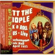Mott The Hoople Rock 'n' Roll Circus: Live At Wolverhampton Civic Japan CD album