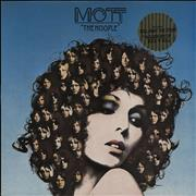 Mott The Hoople The Hoople - Stickered UK vinyl LP