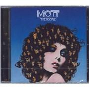 Mott The Hoople The Hoople UK CD album