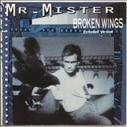 Click here for more info about 'Broken Wings - Blue Sleeve'