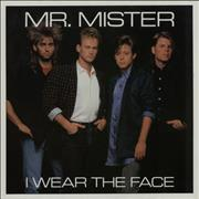 Click here for more info about 'Mr Mister - I Wear The Face'
