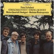 Click here for more info about 'Melos Quartett - Franz Schubert: String Quintet'