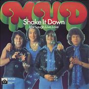 Click here for more info about 'Mud - Shake It Down - Picture Sleeve'