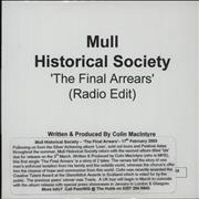 Click here for more info about 'Mull Historical Society - The Final Arrears (Radio Edit)'