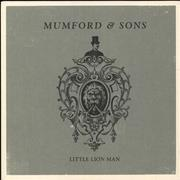 Click here for more info about 'Mumford & Sons - Little Lion Man - Numbered'