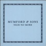Click here for more info about 'Mumford & Sons - Sigh No More'
