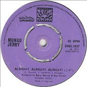 Click here for more info about 'Mungo Jerry - Alright, Alright, Alright'