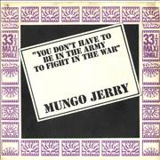 Click here for more info about 'Mungo Jerry - You Don't Have To Be In The Army To Fight In The War EP'