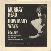 Click here for more info about 'Murray Head - How Many Ways - Murray P/s'