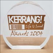 Click here for more info about 'Muse - 2004 Kerrang! Award - Best Album - Withdrawn'