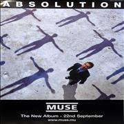 Click here for more info about 'Muse - Absolution Poster'