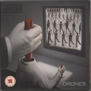 Muse Drones - Deluxe Edition UK 2-disc CD/DVD set
