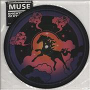 "Muse Knights Of Cydonia UK 7"" picture disc"