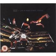 Muse Live At Rome Olympic Stadium UK 2-disc CD/DVD set