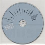 Muse Showbiz - Perspex Surround UK CD album Promo