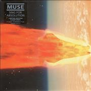 "Muse Sing For Absolution UK 7"" vinyl"