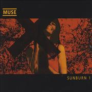 Muse Sunburn - CDs 1 & 2 UK 2-CD single set
